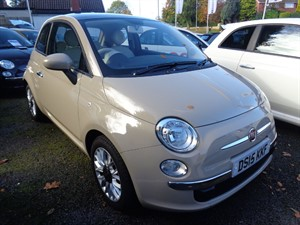 used Fiat 500 LOUNGE 2015 in staffordshire