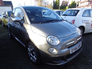 used Fiat 500 S 2014 (64) in staffordshire