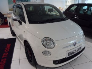 used Fiat 500 Twin Air Street in staffordshire