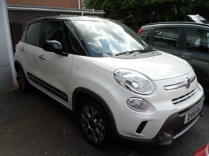 used Fiat 500 L MULTIJET TREKKING DUALOGIC 2014 in staffordshire