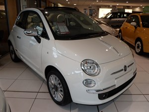 used Fiat 500C LOUNGE Cabriolet in staffordshire