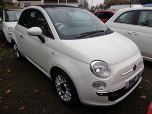used Fiat 500C LOUNGE 2012 in staffordshire