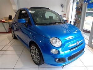 used Fiat 500C S in staffordshire