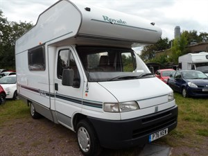 used Fiat Ducato Swift Royale 590 Special Edition Motorhome in staffordshire