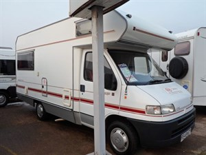 used Fiat Ducato Lifestyle Super Swift Sundance 590 Motorhome in staffordshire