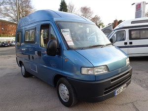 used Fiat Ducato Touring Motorhome SWB 2.8D in staffordshire
