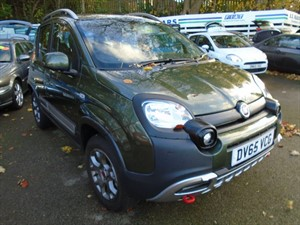 used Fiat Panda TWINAIR CROSS 2015 in staffordshire