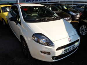 used Fiat Punto TWINAIR 2012 (62) in staffordshire