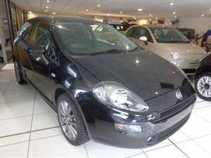 used Fiat Punto JET BLACK 2 in staffordshire