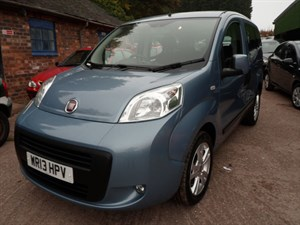 used Fiat Qubo MULTIJET MYLIFE 2013 in staffordshire