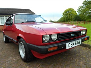 used Ford Capri GHIA in staffordshire