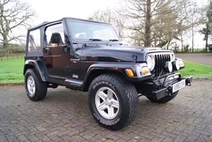 used Jeep Wrangler SAHARA 1999 (V) Full history in staffordshire