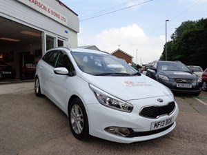 used Kia Ceed CRDI 2 ECODYNAMICS 2013 in staffordshire