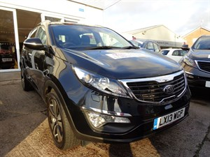 used Kia Sportage CRDI 3 2013 in staffordshire