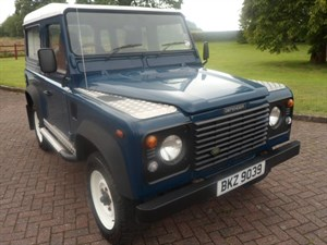 used Land Rover Defender 90 TD5 Safari 7 seats in staffordshire