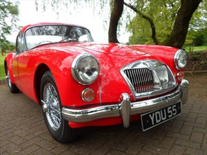 used MG  A 1600cc Coupe - Full Ground-up Restoration in staffordshire