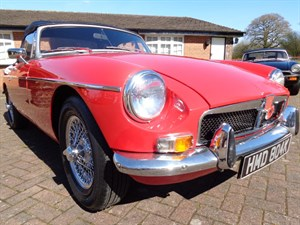 used MG MGB ROADSTER 1971 in staffordshire