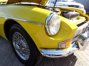 used MG MGB ROADSTER 1.8 WITH OVERDRIVE in staffordshire