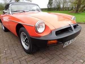 used MG MGB ROADSTER 1979 in staffordshire
