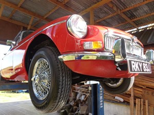 used MG MGB MGB 1.8 with overdrive in staffordshire