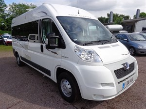 used Peugeot Boxer 335 L3H2 LWB SHR in staffordshire