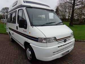 used Peugeot Boxer Auto sleeper Harmony Motorhome TD in staffordshire