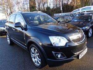 used Vauxhall Antara SE NAV CDTI S/S 2013 in staffordshire
