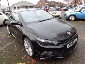 used VW Scirocco R LINE TDI DSG BLUEMOTION TECHNOLOGY 2013 in staffordshire
