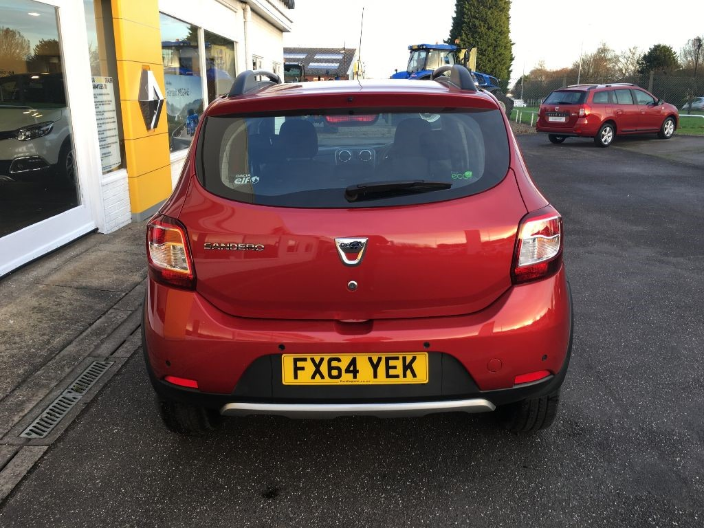 used red dacia sandero for sale lincolnshire. Black Bedroom Furniture Sets. Home Design Ideas