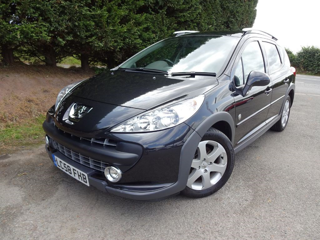 used peugeot 207 hdi sw outdoor 110bhp estate. Black Bedroom Furniture Sets. Home Design Ideas