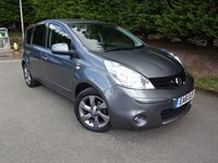 Used Nissan Note N-Tec (110bhp) (Automatic)