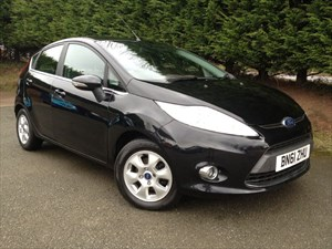 used Ford Fiesta TDCI Econetic Zetec (95bhp) in herefordshire-for-sale
