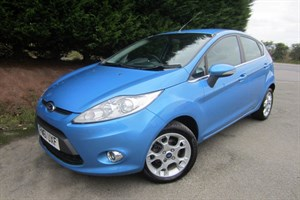 used Ford Fiesta TDCI Zetec (70bhp) in herefordshire-for-sale