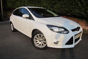 used Ford Focus TDCI Titanium (115bhp) in herefordshire-for-sale