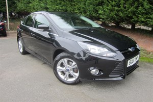 used Ford Focus Zetec (125bhp) in herefordshire-for-sale