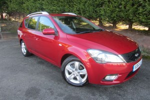 used Kia Ceed CRDI 2 SW (115bhp) (Estate) in herefordshire-for-sale