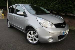 used Nissan Note N-TEC DCI in herefordshire-for-sale