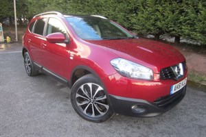 used Nissan Qashqai+2 DCI N-Tec (110bhp) (7 x Seat) in herefordshire-for-sale