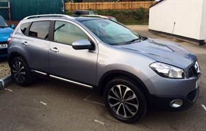 used Nissan Qashqai N-TEC DCI in herefordshire-for-sale