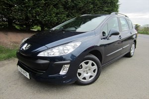 used Peugeot 308 HDI SW S (90bhp) (Estate) in herefordshire-for-sale