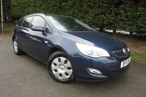 used Vauxhall Astra CDTI Exclusiv Ecoflex (110bhp) (Estate) in herefordshire-for-sale