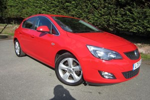 used Vauxhall Astra CDTI SRI (125bhp) in herefordshire-for-sale