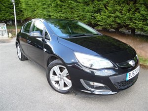 used Vauxhall Astra CDTI SRI (160bhp) in herefordshire-for-sale