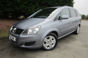 used Vauxhall Zafira CDTI ECOFlex Exclusiv (110bhp) in herefordshire-for-sale