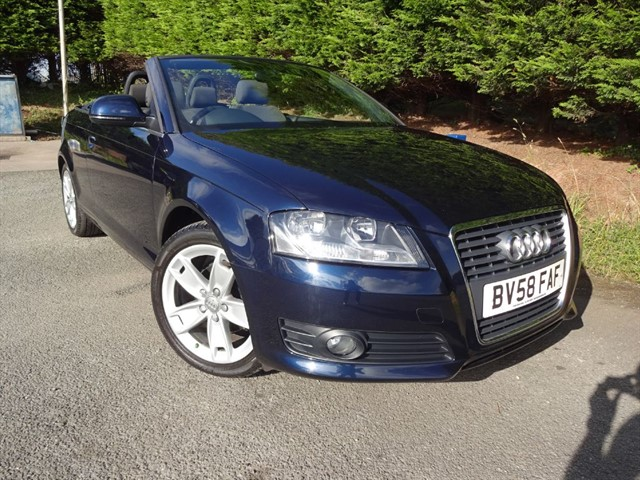 used Audi A3 Cab TDI Sport (105bhp) in herefordshire-for-sale
