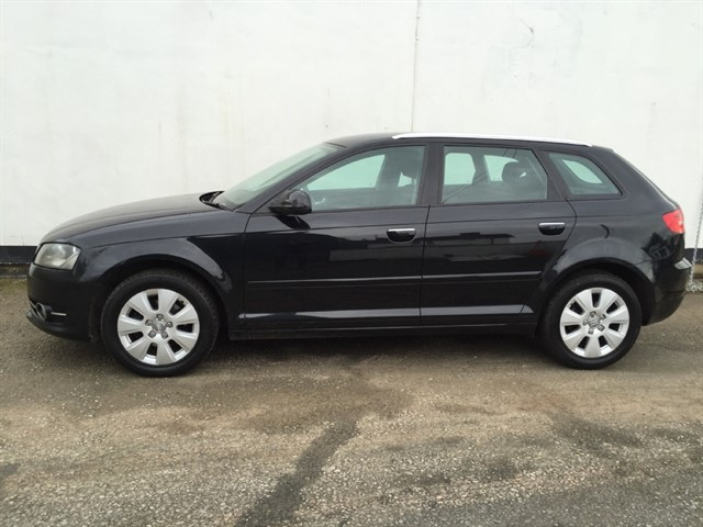 used Audi A3 TDI Sportback (105bhp) in herefordshire-for-sale