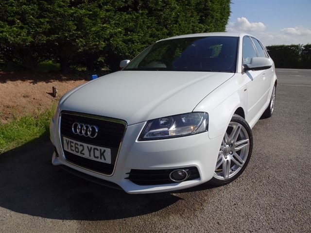 used Audi A3 TDI S-Line (105bhp) in herefordshire-for-sale
