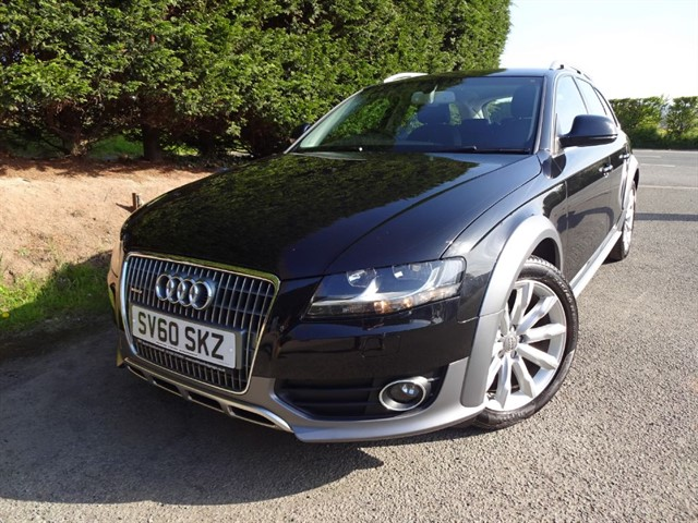 used Audi A4 allroad TDI Quattro (170bhp) (AWD) in herefordshire-for-sale