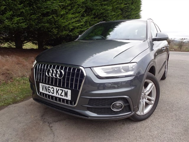 used Audi Q3 TDI Quattro S-Line (140bhp) (4x4) in herefordshire-for-sale