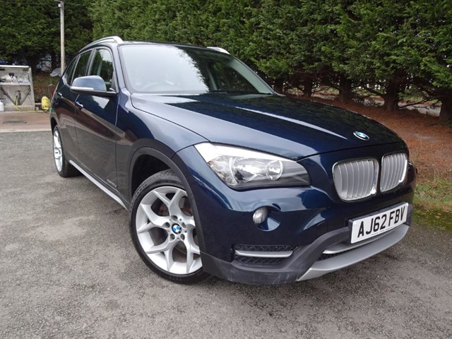 used BMW X1 xDrive xLine (180bhp) (4WD) in herefordshire-for-sale